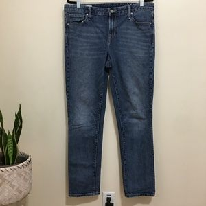 GAP real straight jeans size 32 tall I1
